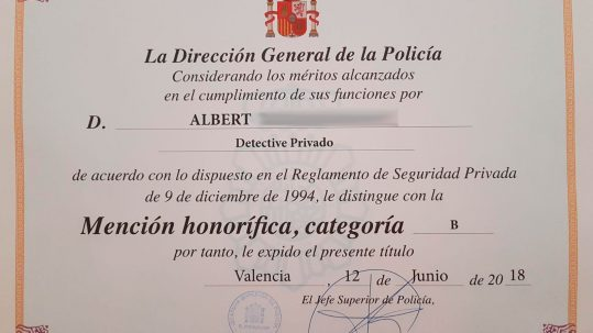 mencion honorífica modus detectives
